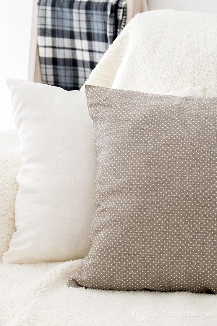 closeups of my cute pillow covers