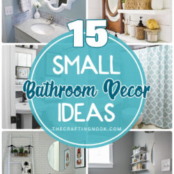 15 Small Bathroom Decor Ideas
