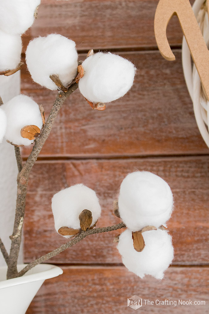 DIY Cute Cotton Stems Tutorial