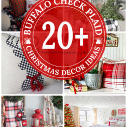 20+ Gorgeous Buffalo Plaid Christmas Decor Ideas (Mostly DIY)