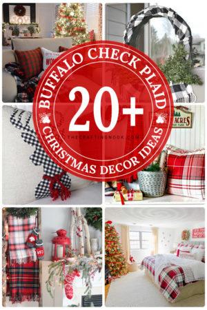 20+ Gorgeous Buffalo Plaid Christmas Decor Ideas (Mostly DIY)