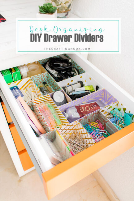 DIY Drawer Dividers for Desk Organizing (Tips and Tricks)