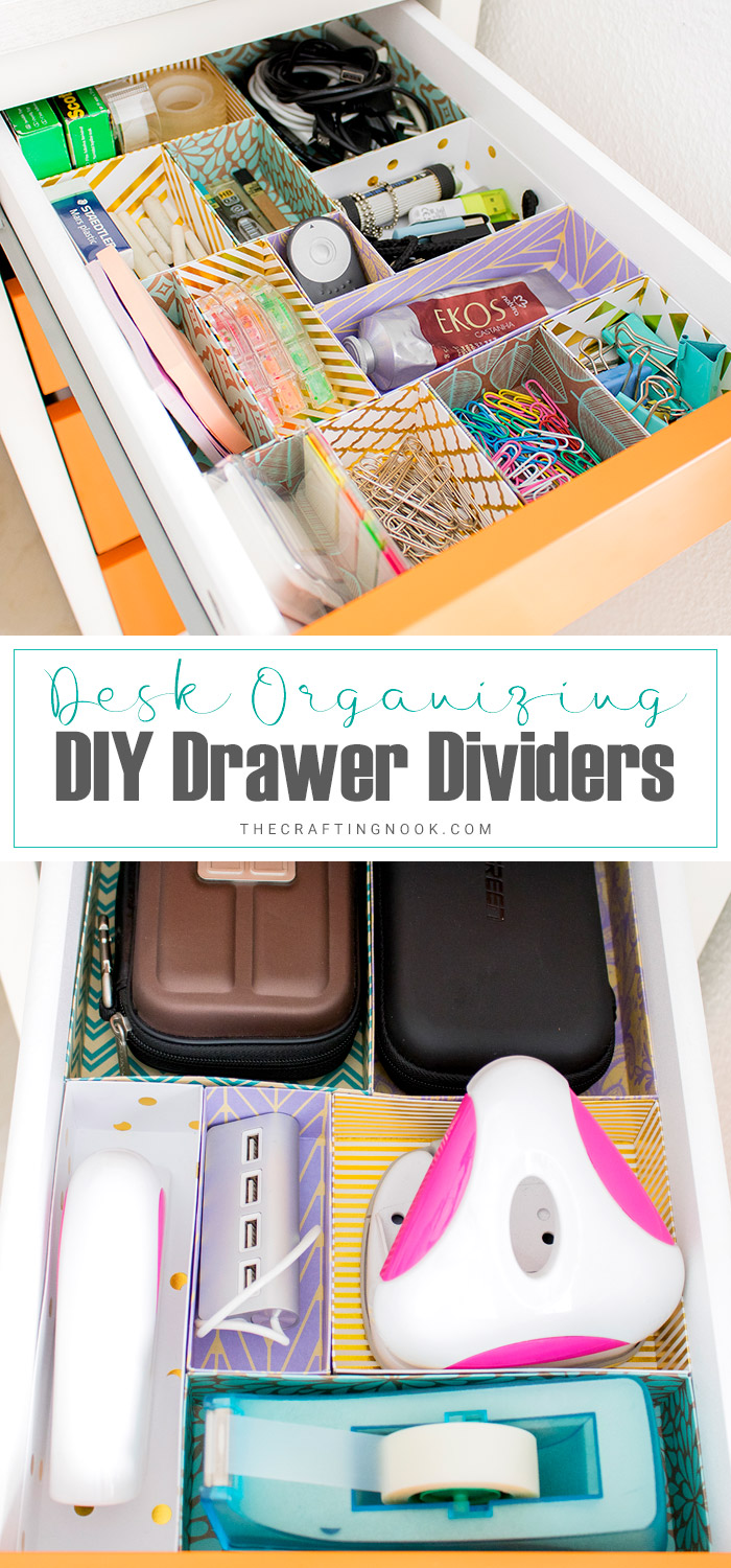 DIY Drawer Dividers Tutorial