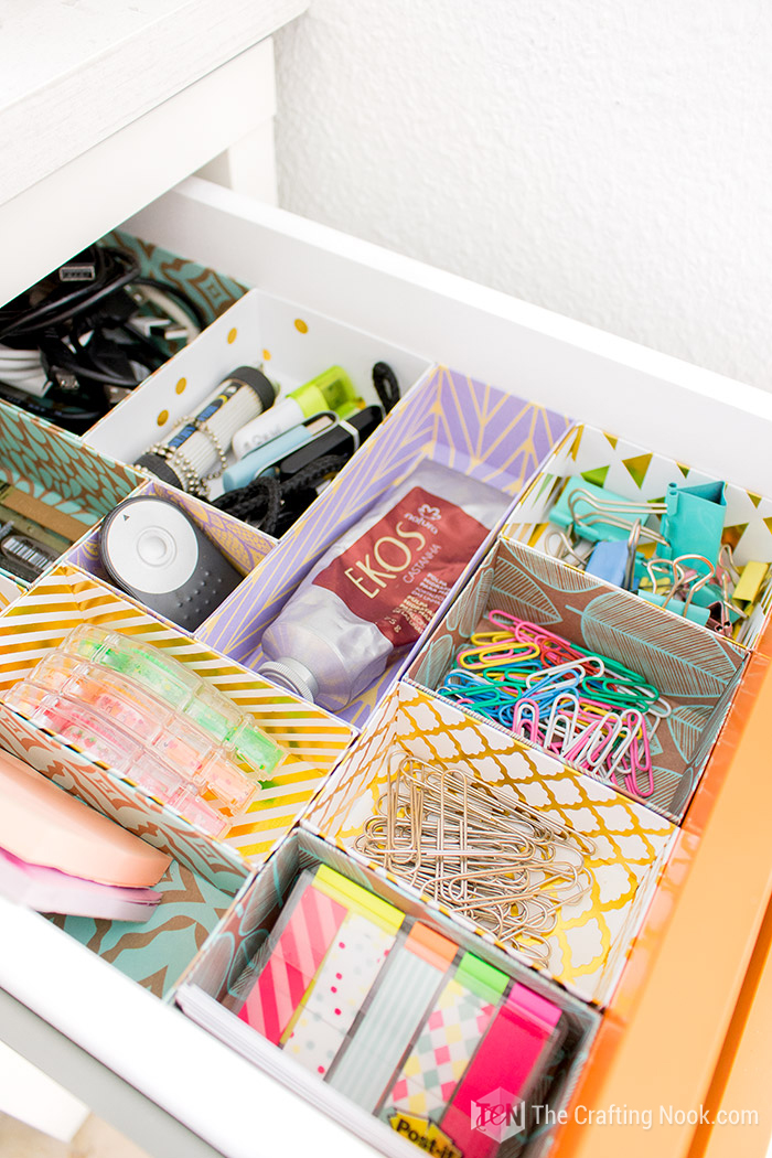 DIY Drawer Dividers for Organization