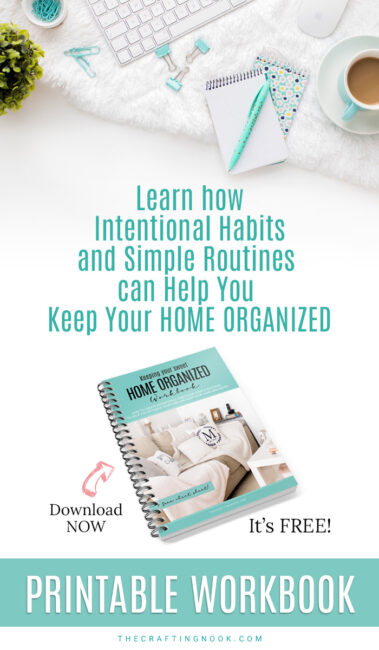 Habits and routines help keep Home Organized