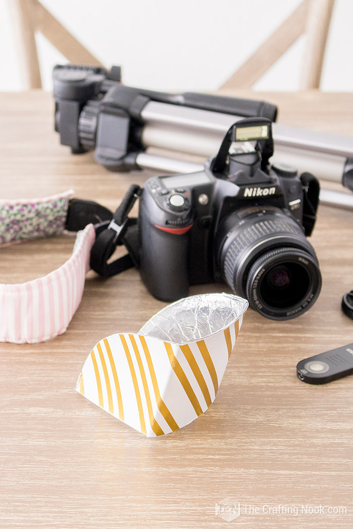 How to Make Flash Reflector for DSLR Built-in flash