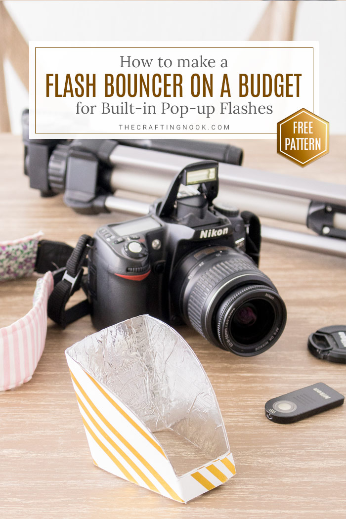 How to make Flash Bouncer for DSLR Built-in flash