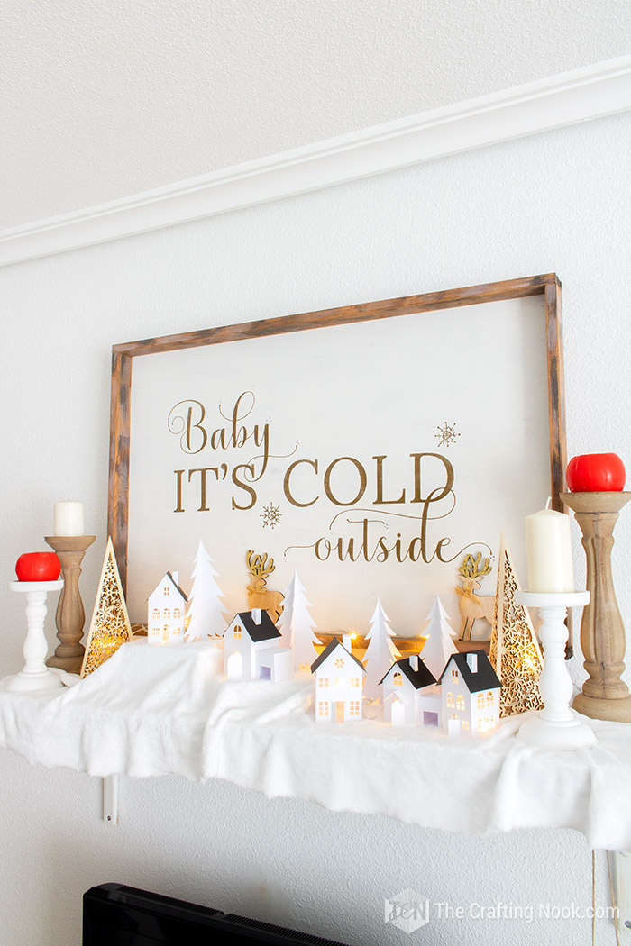How to Make Rustic Oversized Reversible Christmas Wood Sign