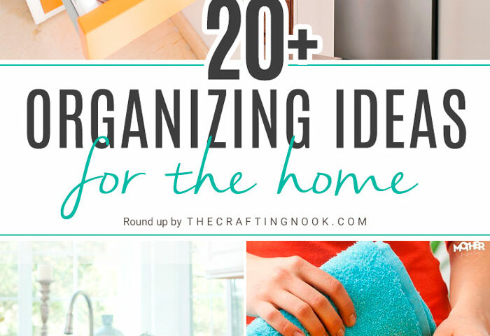 Over 20 Organization Ideas for the Home