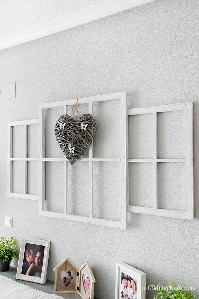 Easy Farmhouse style Window Frames