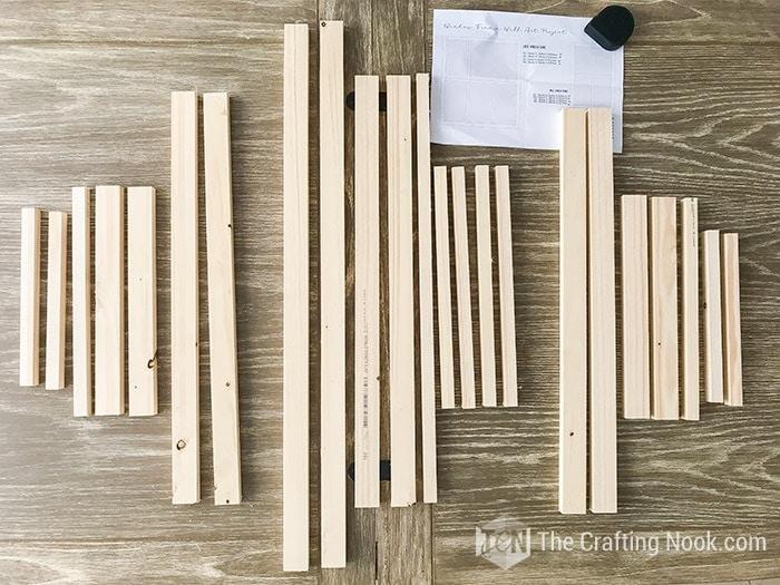 Window Frames Wood boards supplies