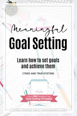 Meaningful Goal Setting: How to set goals and achieve them.