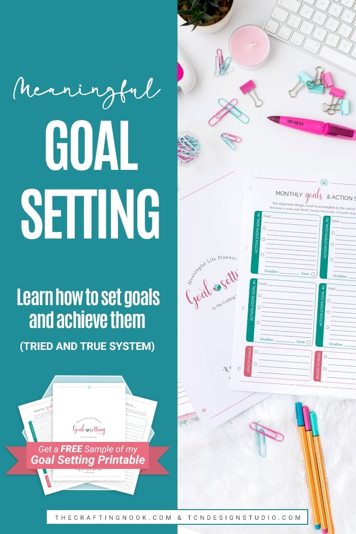 Meaningful Goal Setting. Learn how to set achievable goals