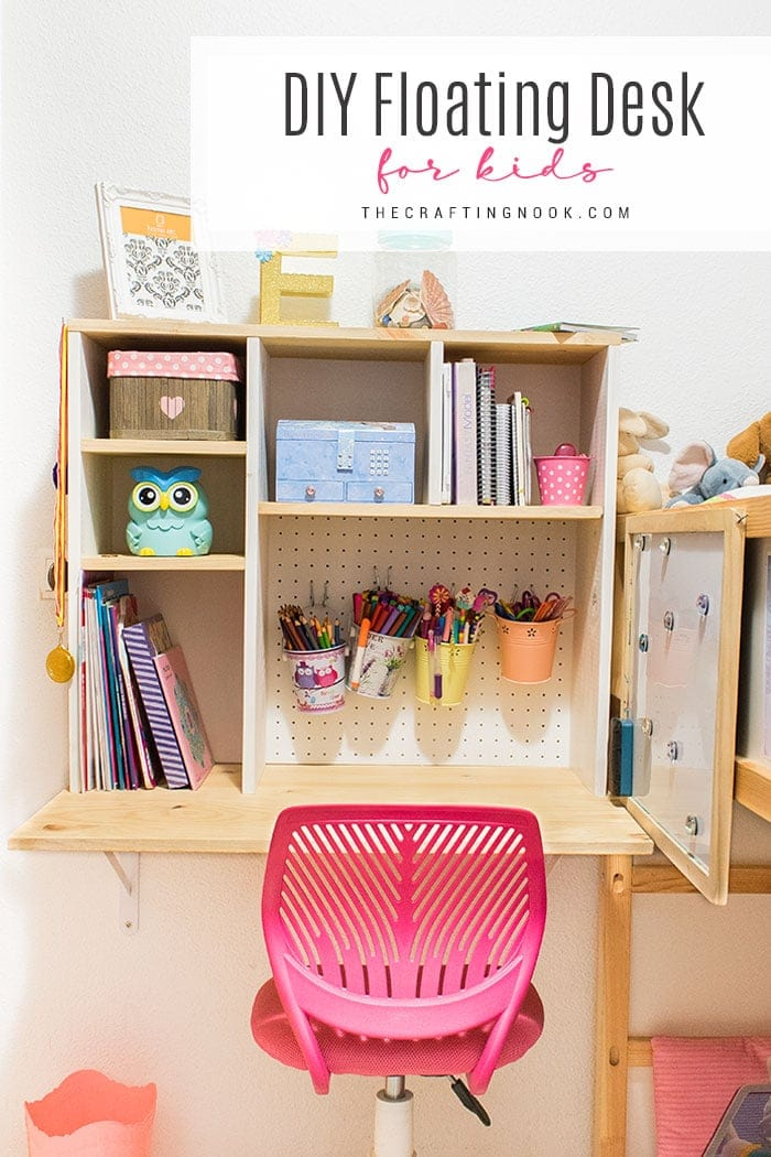 How to Make a Fun Floating Desk