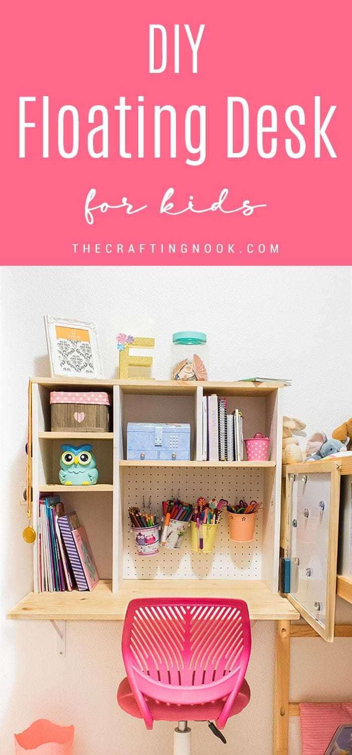 How to Make a Fun Floating Desk for Kids