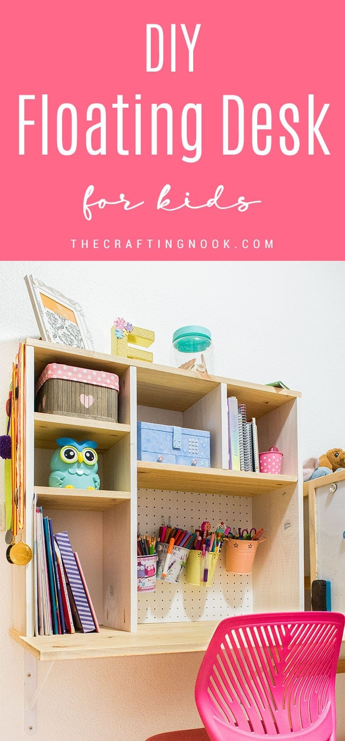 How to Make a Floating Desk for Kids