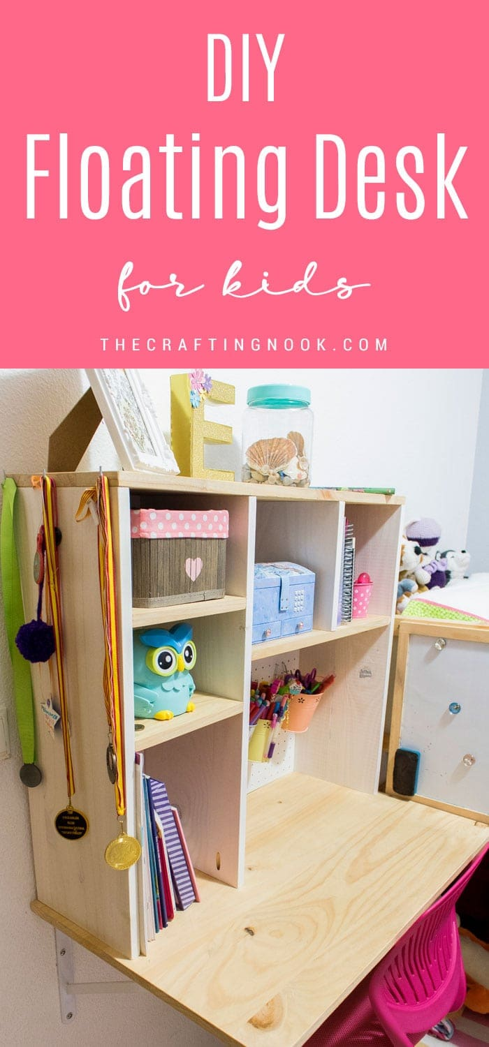 How to build a Floating Desk for Kids