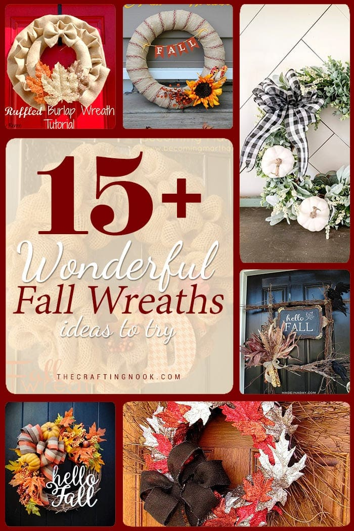 15 Wonderful Fall Wreaths.