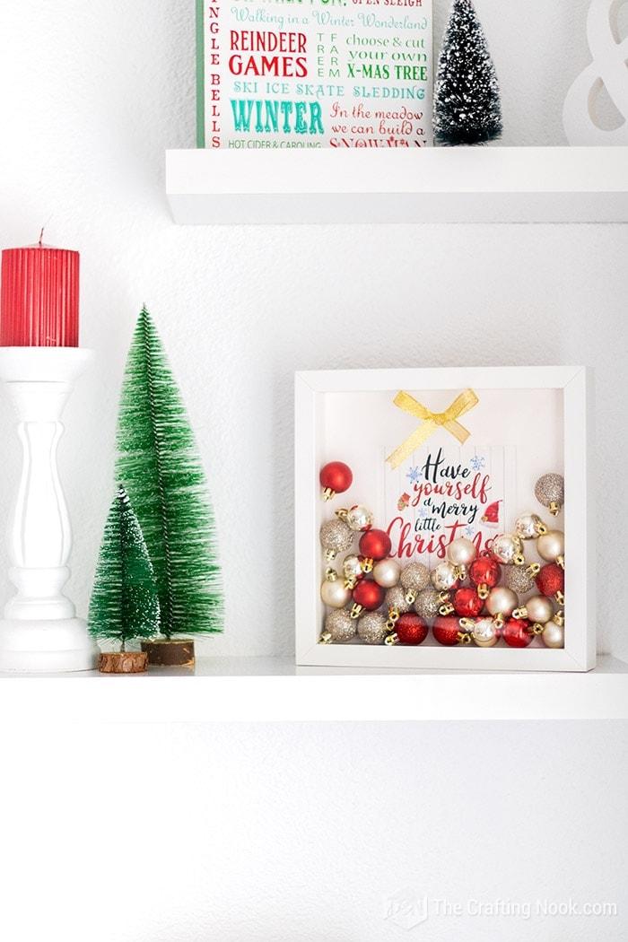 Shado Box Christmas Home decor