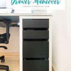 DIY Quick IKEA Desk Drawer-Makeover