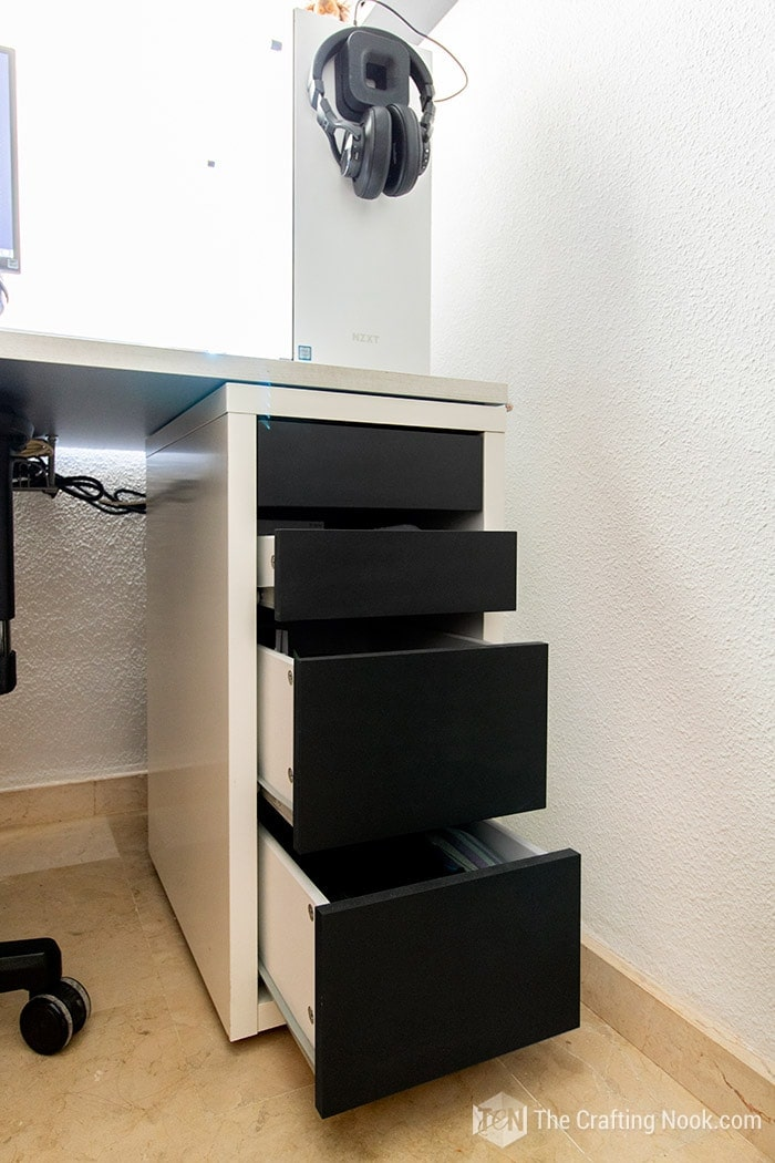 Quick Ikea Desk Drawer Makeover