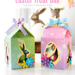 DIY Milk Carton Easter Favor Box