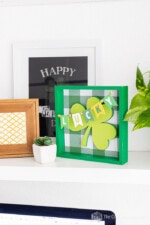 Lucky Shamrock St. Patrick's Day Frame Easy