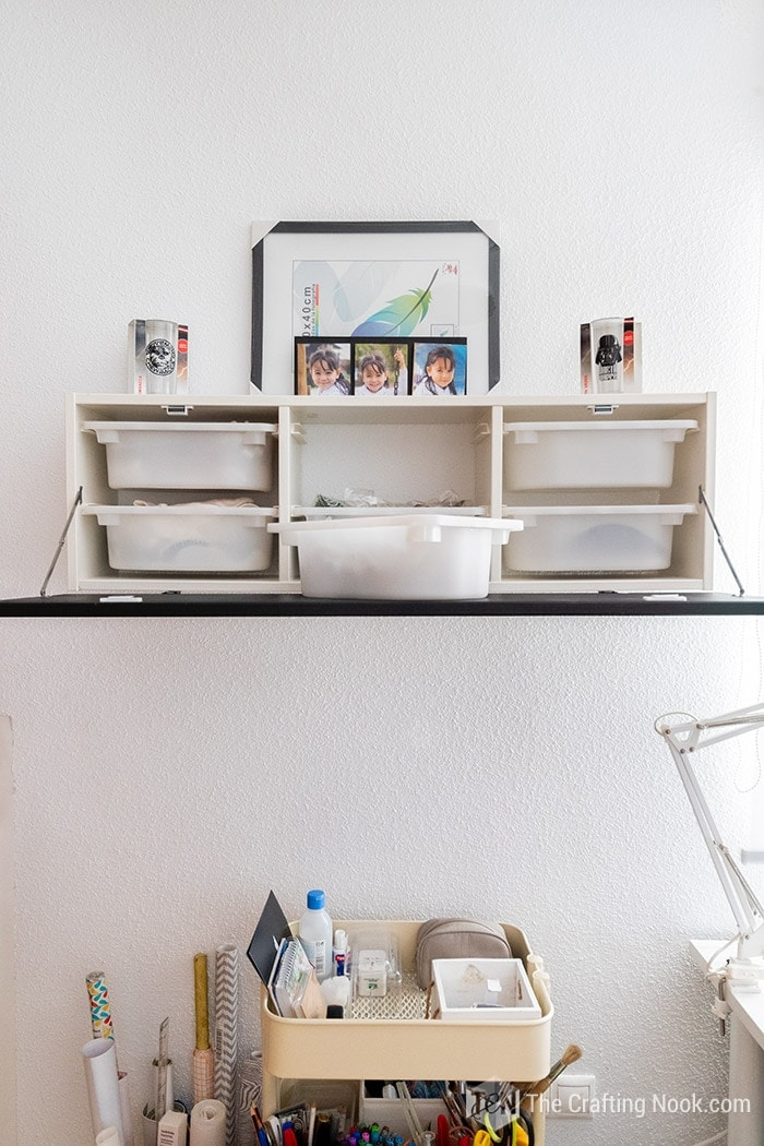 IKEA Hack: Installing a door to hide the messy drawers