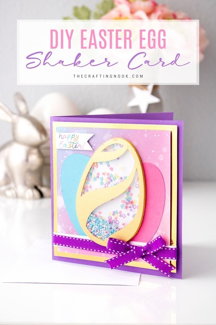 DIY Easter Egg Shaker Card
