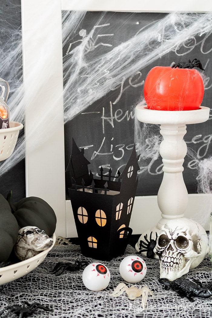 Cute Halloween haunted house lanterns