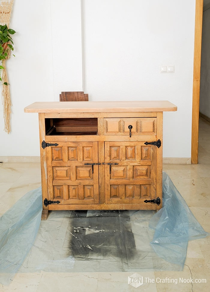 The Vintage Buffet before the makeover