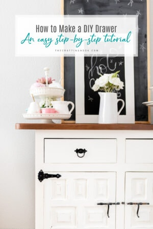 How to Make a DIY Drawer